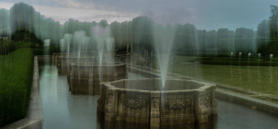 Longwood Gardens fountains